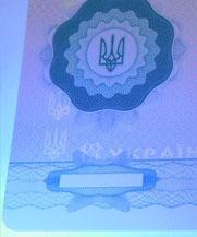 Диплом - свечение УФ (Черкассы)