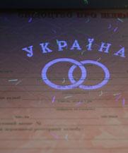 Диплом - микро ворс в УФ (Черкассы)